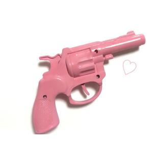 ハンドメイド ピストル ピンク コスプレ 小道具(小道具)