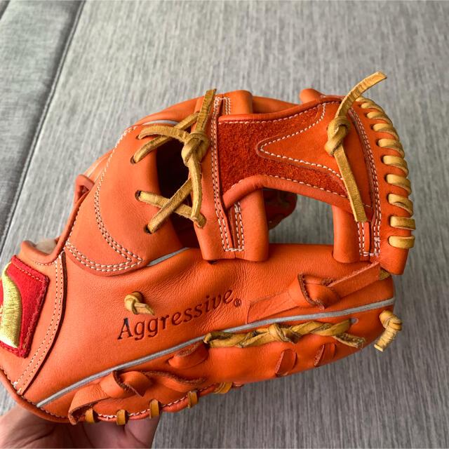 久保田スラッガー(クボタスラッガー)の久保田スラッガー ksn-21ps スポーツ/アウトドアの野球(グローブ)の商品写真