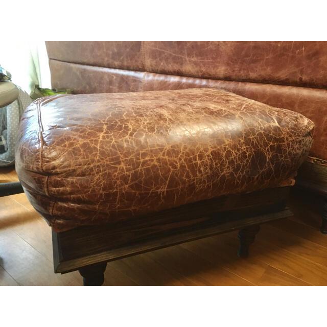 JOURNAL STANDARD(ジャーナルスタンダード)のnancy ottoman journal standard furniture インテリア/住まい/日用品のソファ/ソファベッド(オットマン)の商品写真