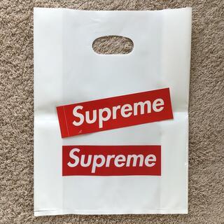 シュプリーム(Supreme)のSupreme ショッパー➕ステッカー(ショップ袋)