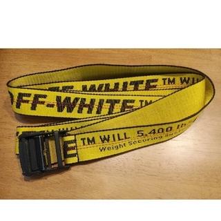 オフホワイト(OFF-WHITE)のオフホワイト ガチャ ベルト supreme off white(ベルト)