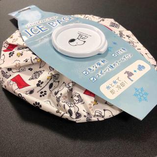 ピーナッツ(PEANUTS)の【セール☆10/10迄】 ICE BAG   氷のう 【 SNOOPY  】 赤(その他)