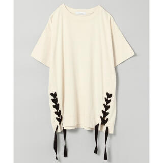 ジーナシス(JEANASIS)のジーナシス サイドレースアップS S(Tシャツ(半袖/袖なし))