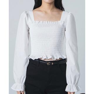 ウィゴー(WEGO)のWEGOシャーリング(Tシャツ(長袖/七分))