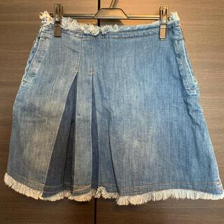 シーバイクロエ(SEE BY CHLOE)の未使用シーバイクロエデニムスカート(ひざ丈スカート)