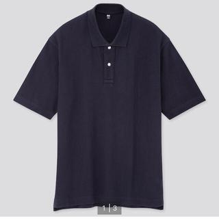 UNIQLO - UNIQLO オーバーサイズカノコポロシャツ(半袖)