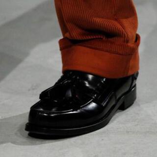 PRADA - prada マルジェラ ジルサンダー ローファー 革靴 20aw 21aw