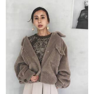アメリヴィンテージ(Ameri VINTAGE)のameri vintage over size eco mouton coat(ムートンコート)