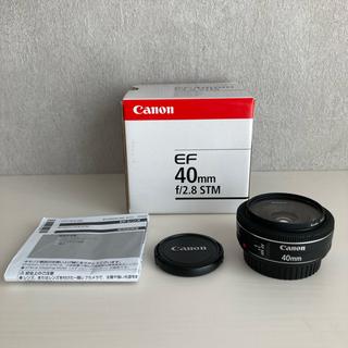 Canon - Canon EF40mm F2.8 STM プロテクションレンズ 箱付