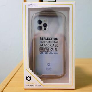 iFace Reflection BEIGE for iPhone 12(iPhoneケース)
