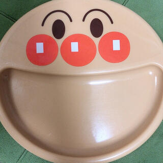 アンパンマン(アンパンマン)のLEC アンパンマン 手づかみプレート 吸盤つき(プレート/茶碗)
