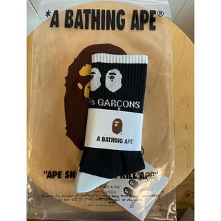 アベイシングエイプ(A BATHING APE)のA BATHING APE CDG OSAKA X BAPE SOCKS(ソックス)