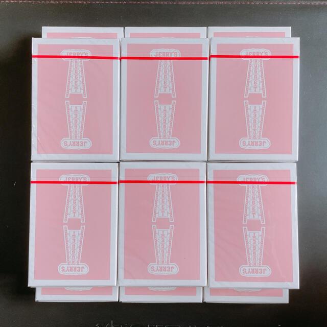 Jerry's nugget rosepink 12個 エンタメ/ホビーのテーブルゲーム/ホビー(トランプ/UNO)の商品写真