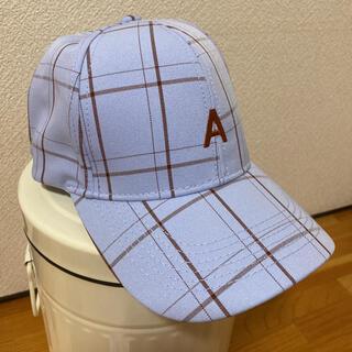 未使用 キャップ レディース 帽子 ロゴ 韓国 日焼け対策 男女兼用(キャップ)