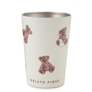 gelato pique - ジェラートピケ ベア柄コンビニカップタンブラー