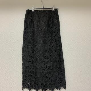 エージーバイアクアガール(AG by aquagirl)のAG by aquagirl レースタイトスカート(ひざ丈スカート)