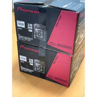 Pioneer - CDJ 2000NXS 2台セット
