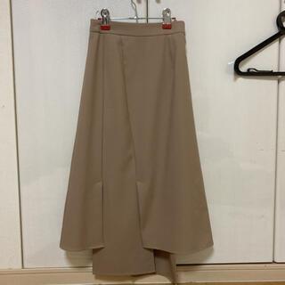 バナーバレット(Banner Barrett)のロングスカート ベージュスカート BANNER BARRETT(ひざ丈スカート)
