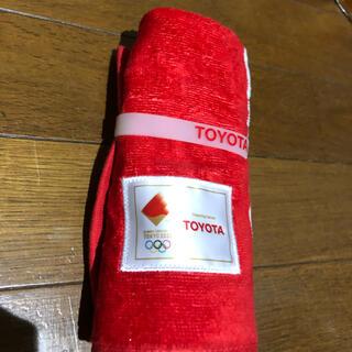 トヨタ(トヨタ)のとよた タオル オリンピック(タオル/バス用品)