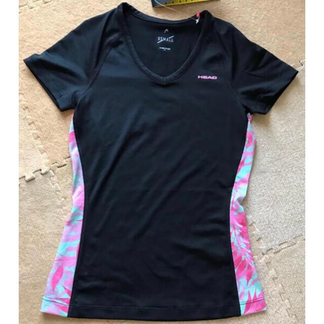 HEAD(ヘッド)のHEAD レディースシャツ XS 新品 スポーツ/アウトドアのトレーニング/エクササイズ(ウォーキング)の商品写真