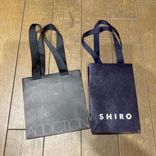 ADDICTION - アディクション シロ Shiro 紙袋 ギフト袋