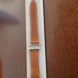 エルメス(Hermes)のApple Watchエルメスベルト(レザーベルト)