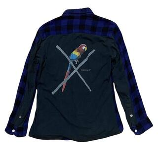 アンダーカバー(UNDERCOVER)の38-128)アンダーカバー 06ss T期 ブロックチェックシャツ 2(シャツ)