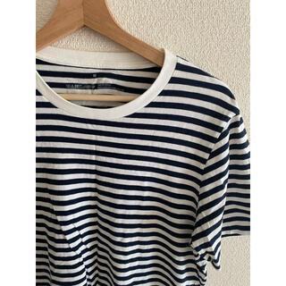 ムジルシリョウヒン(MUJI (無印良品))の無印 MUJI ボーダー Tシャツ Mサイズ メンズ レディース(Tシャツ/カットソー(半袖/袖なし))