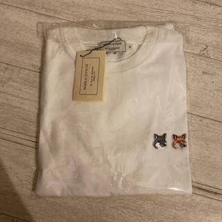 メゾンキツネ(MAISON KITSUNE')のmaison kitsune Tシャツ ダブルフォックス(Tシャツ/カットソー(半袖/袖なし))