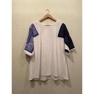 キャピタル(KAPITAL)のkapital バンダナ Tシャツ  A$AP ROCKY イアンコナー (Tシャツ/カットソー(半袖/袖なし))