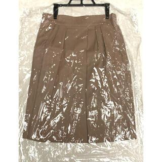 マルティニークルコント(martinique Le Conte)のマルティニーク スカート キャメル(ひざ丈スカート)