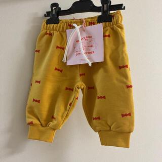 キャラメルベビー&チャイルド(Caramel baby&child )のタイニーコットンズ TINYCOTTONS70.75☺︎リボン柄スウェット(パンツ)