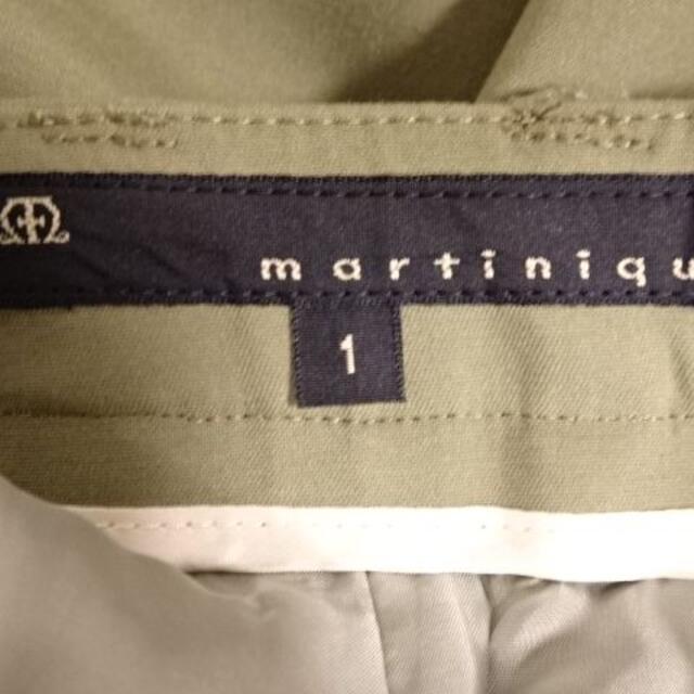 martinique Le Conte(マルティニークルコント)の【新品同様】martiniqueマルティニーククロップドパンツ レディースのパンツ(クロップドパンツ)の商品写真
