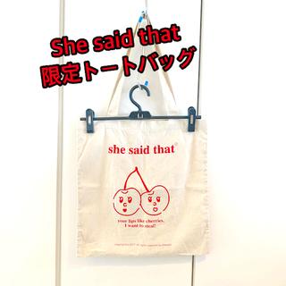 ニコアンド(niko and...)のshe said that トートバッグ(トートバッグ)