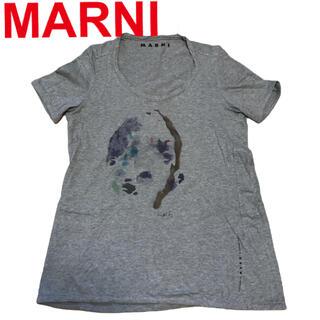 マルニ(Marni)のマルニ イタリア製 グラフィックプリントTシャツ MARNI(Tシャツ(半袖/袖なし))