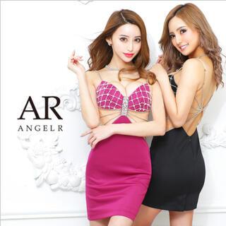 エンジェルアール(AngelR)のAngel R クロスビジューデザインドレス(ナイトドレス)
