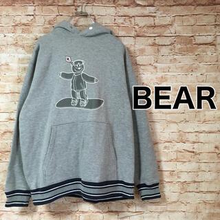 ベアー(Bear USA)のベアー BEAR USA パーカー プルオーバー スウェット プリント 長袖(パーカー)