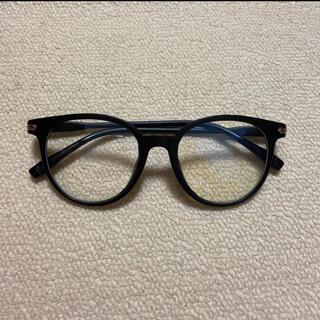 伊達メガネ デザイン眼鏡 黒縁 (サングラス/メガネ)