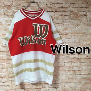 ウィルソン(wilson)のウィルソン WILSON スポーツウェア ロゴ 半袖(ウェア)