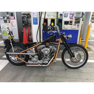 Harley Davidson - 車検2年付き!リベラ6速S&Sショベルリジッドカスタムチョッパー