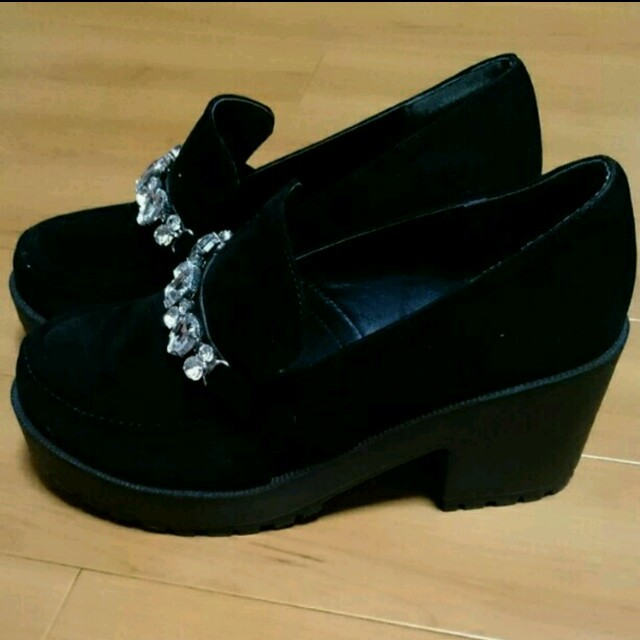 ByeBye(バイバイ)の❥❥ay様 専用♡ByeBye♡ビジュー 靴 レディースの靴/シューズ(ブーツ)の商品写真
