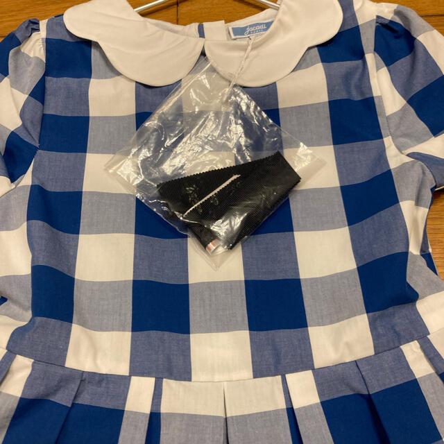 Jacadi(ジャカディ)のジャカディ ワンピース キッズ/ベビー/マタニティのキッズ服女の子用(90cm~)(ワンピース)の商品写真