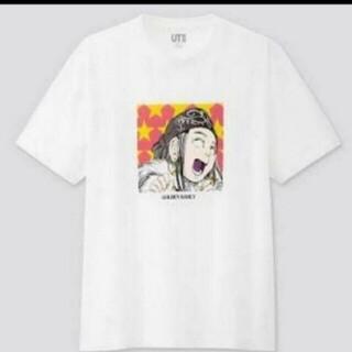 ユニクロ(UNIQLO)のユニクロ 白 ゴールデンカムイ コラボ グラフィックTシャツ  アシリパさん(その他)
