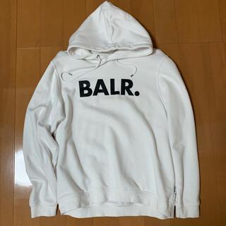 BALR. ボーラー Brand Hoodie パーカー ホワイト(パーカー)