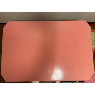 ピンク / テーブル 【無料】(ローテーブル)