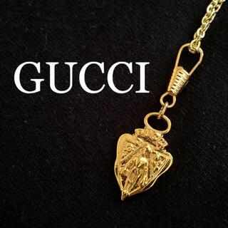グッチ(Gucci)のGUCCI オールドグッチ クレストチャーム ネックレス キーホルダー(チャーム)