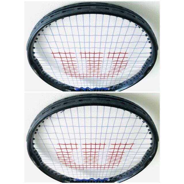 wilson(ウィルソン)の【美品】ウィルソン『レディーフレアー110』テニスラケット/G1/パープル/希少 スポーツ/アウトドアのテニス(ラケット)の商品写真