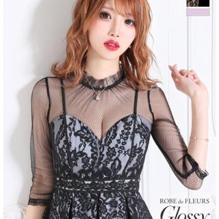 ROBE - ローブドフルール  グロッシー ドレス♡