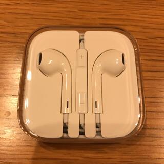 アップル(Apple)の【新品未使用】 iPhone純正イヤホン iPhoneイヤホン 純正品(ヘッドフォン/イヤフォン)
