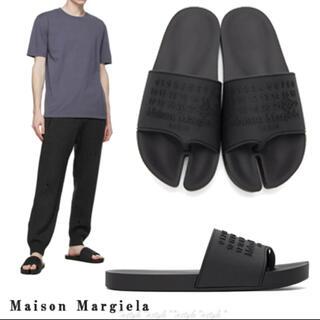 マルタンマルジェラ(Maison Martin Margiela)の【クーポン❣️】Maison Margiela /タビサンダル 40 ブラック(サンダル)